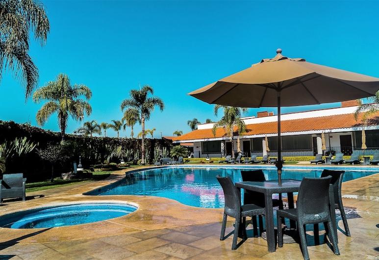 Hotel ECCE INN, Silao, Garden