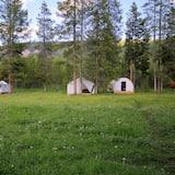 Tente Tradition, 2 lits une place - Chambre