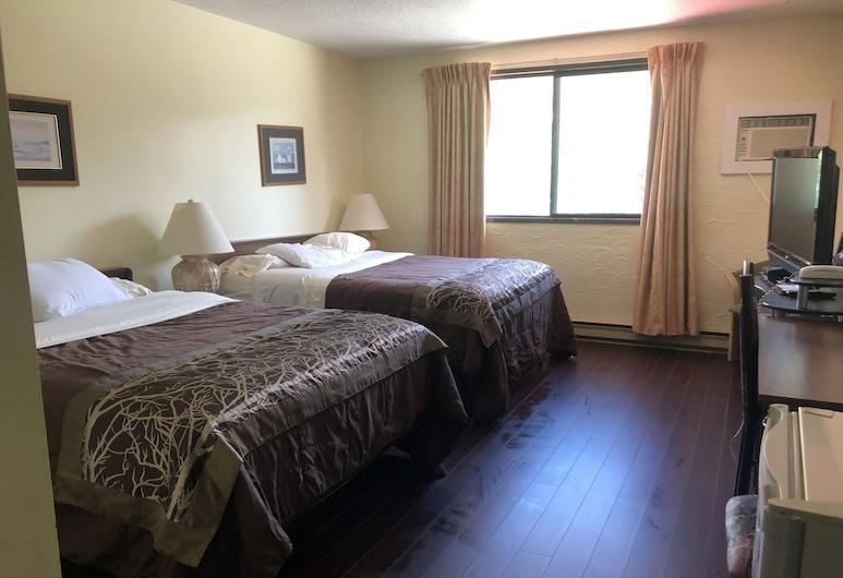 Villager's Inn, Fruitvale, Standartinio tipo kambarys, 2 didelės dvigulės lovos, šaldytuvas ir mikrobanginė krosnelė, Svečių kambarys