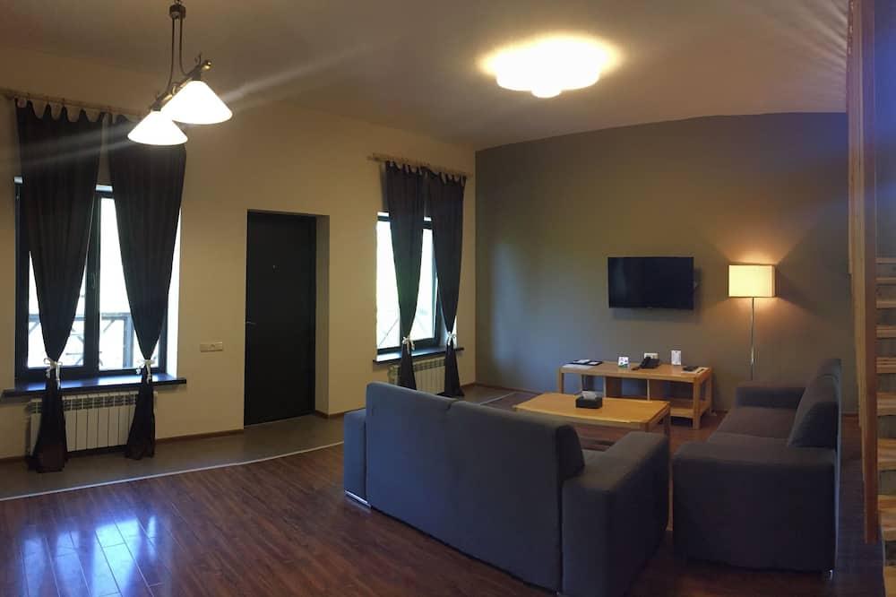 Suite, 2 slaapkamers, keuken - Woonkamer