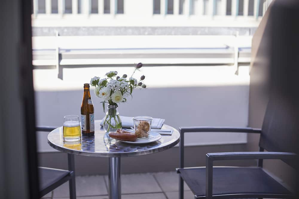 Habitación doble Confort, patio - Balcón
