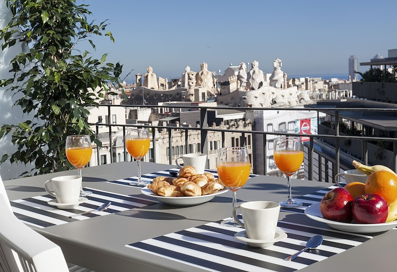 Bonavista Apartments - Passeig de Gracia, Barcelona, Penthouse, 2 habitaciones, Terraza o patio