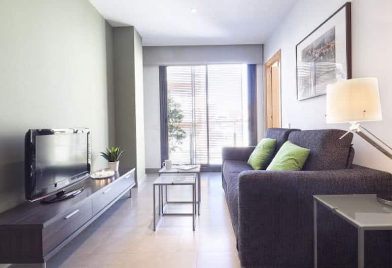 Bonavista Apartments - Virreina, Barcelona, Lägenhet - 1 sovrum - balkong, Vardagsrum