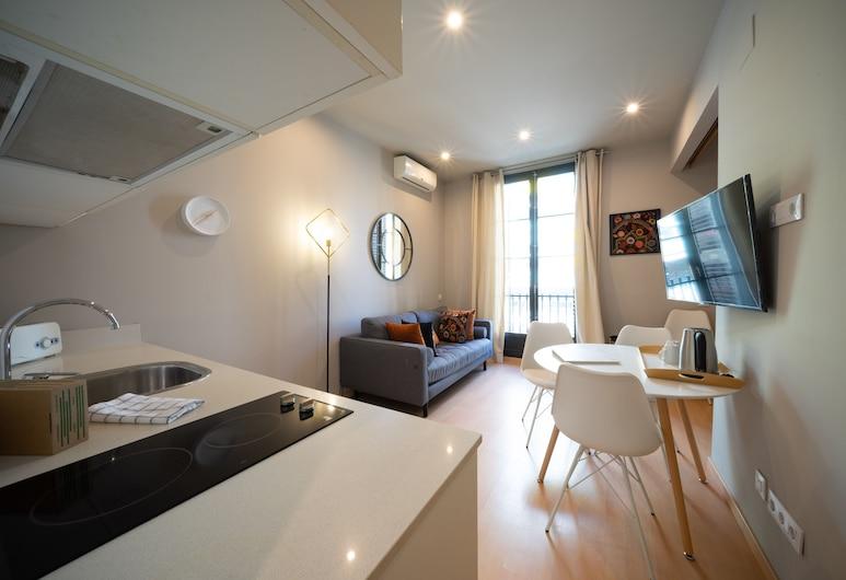 보나비스타 아파트먼트 - 에익삼플레, 바르셀로나, 거실