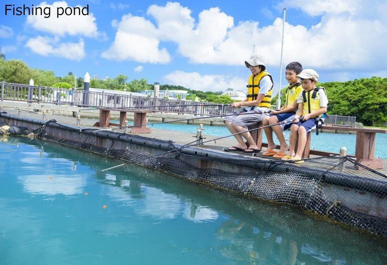 Marine Piazza Okinawa, Motobu, Balık Tutma