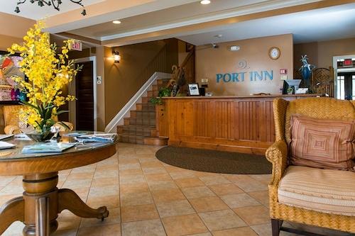 港口旅館及木屋