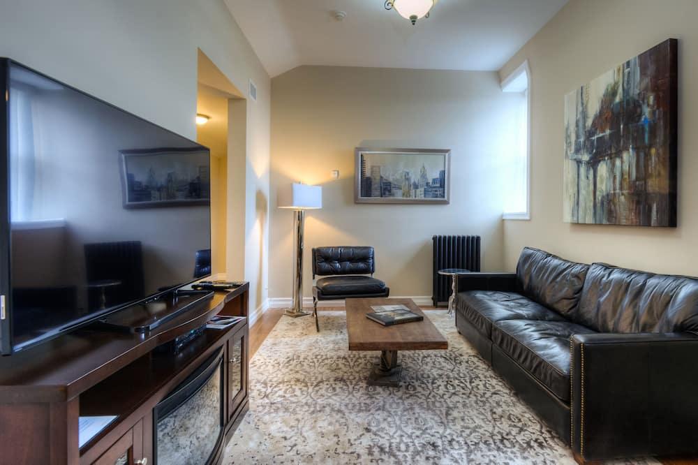Suite, 2 camas Queen size - Sala de estar