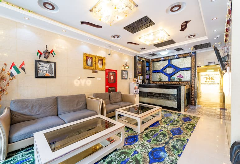 OYO 151 Hafez Hotel Apartments, Dubai, Reception