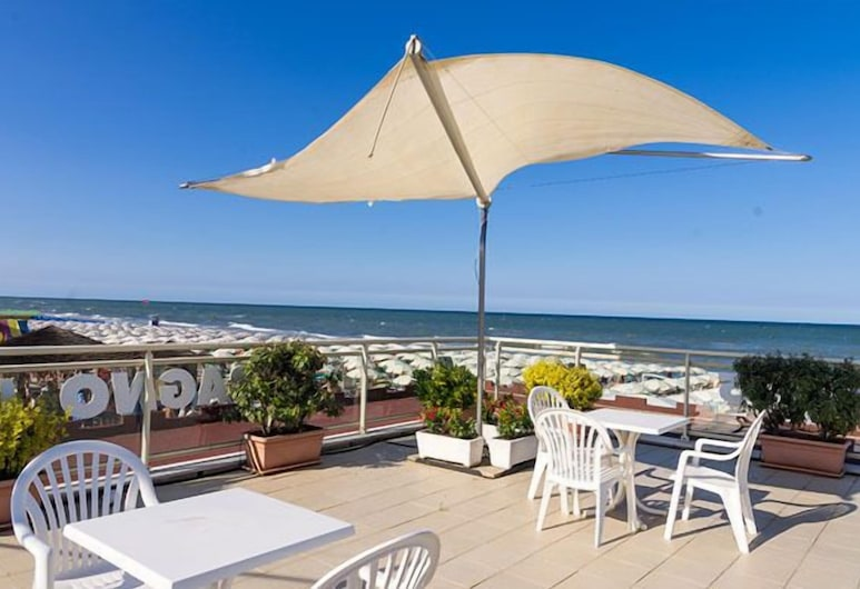 Hotel Apollo, Cervia, Terrasse/Patio