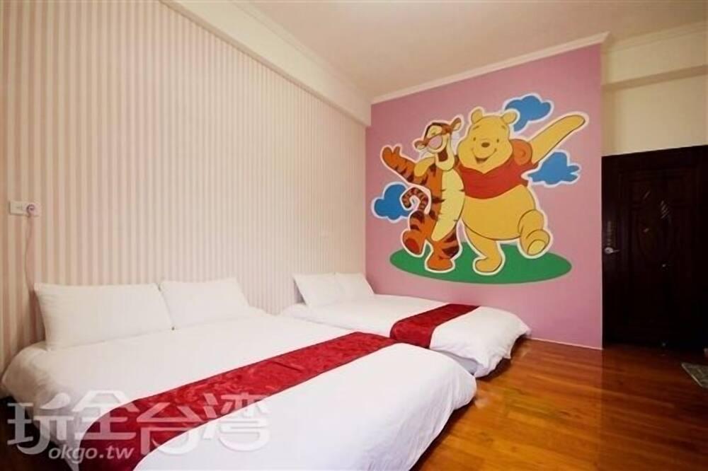 Deluxe négyágyas szoba - Gyermekek számára berendezett szoba