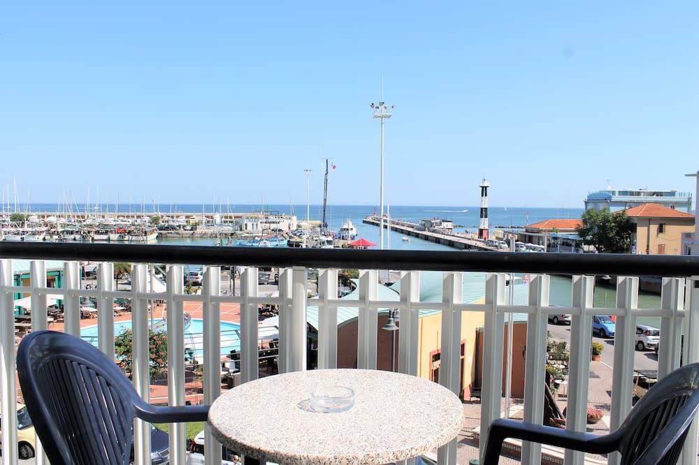 Panoramic Double Room, 1 Bedroom, Balcony, Sea View - Balcony