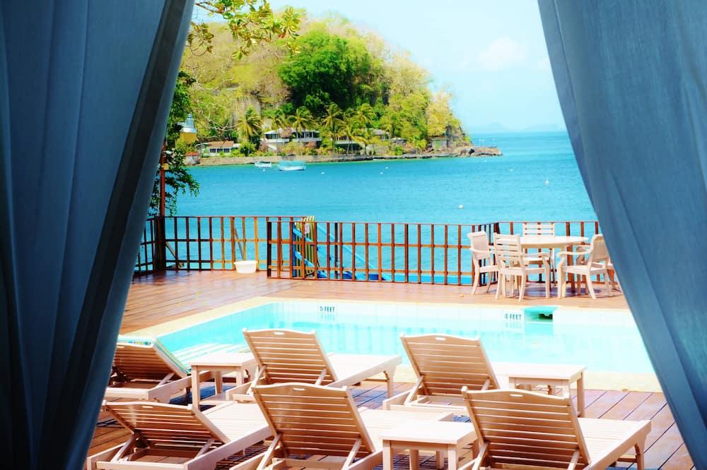 Suite, 1 letto king, balcone, vista oceano - Vista dalla camera