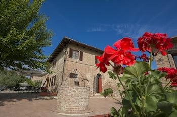 Siena bölgesindeki Aia Mattonata Relais resmi