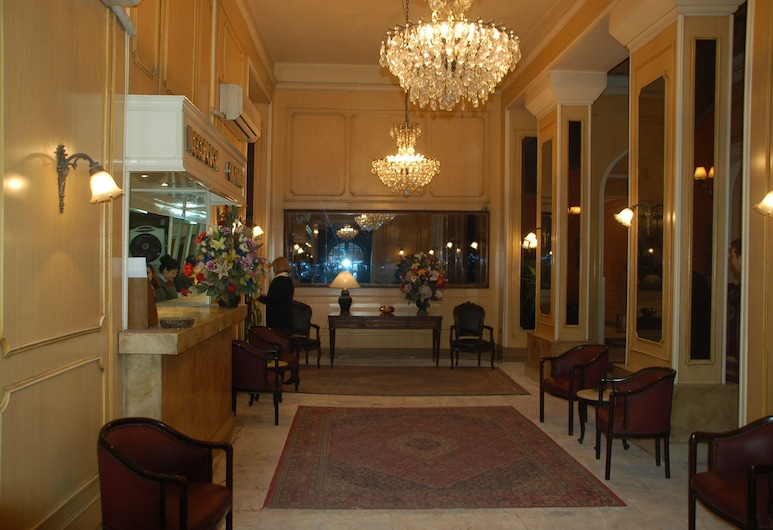 維多利亞蔚藍酒店, 開羅, 櫃台