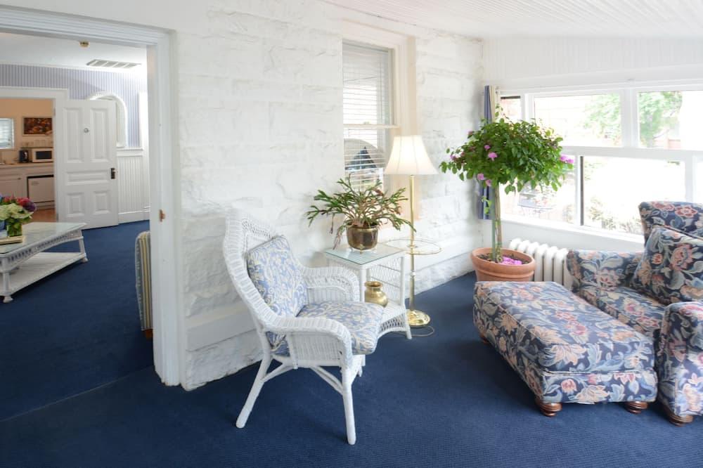 Стандартний номер, 1 ліжко «кінг-сайз» та розкладний диван (Bluebell Suite) - Житлова площа