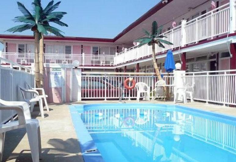 Skylark Resort Motel, Wildwood, Bazén