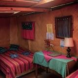 Eenvoudig huisje, Meerdere bedden, terras - Badkamer
