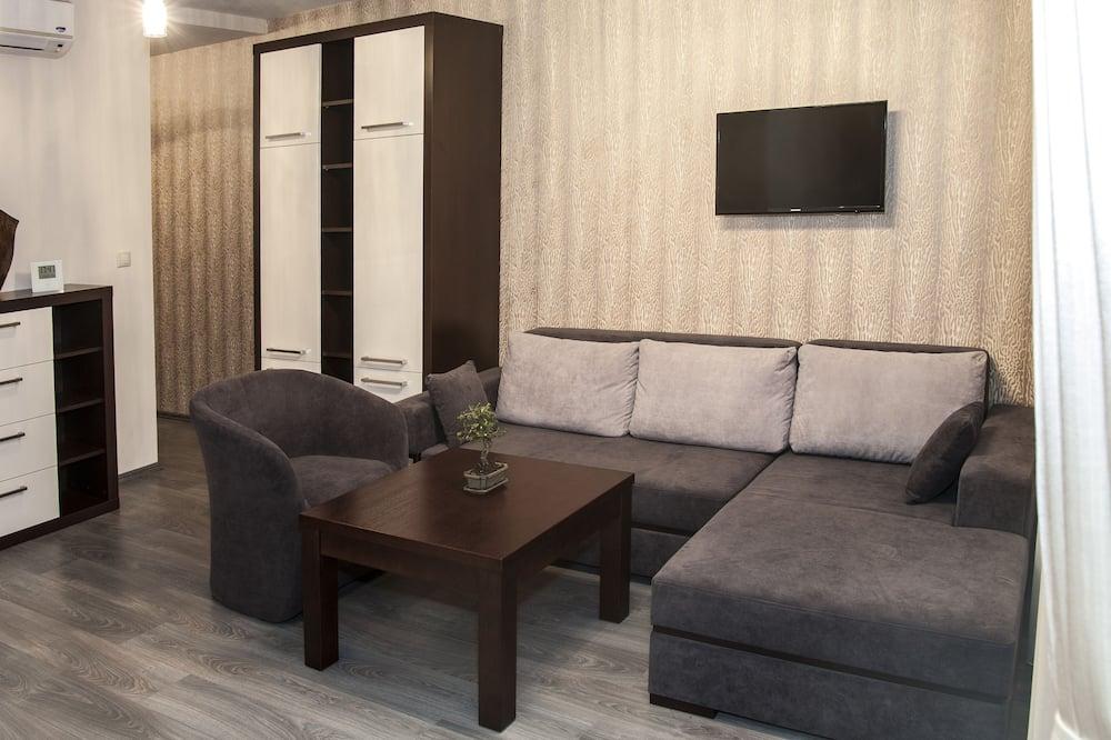 Apartamento Deluxe, 1 Quarto - Área de Estar