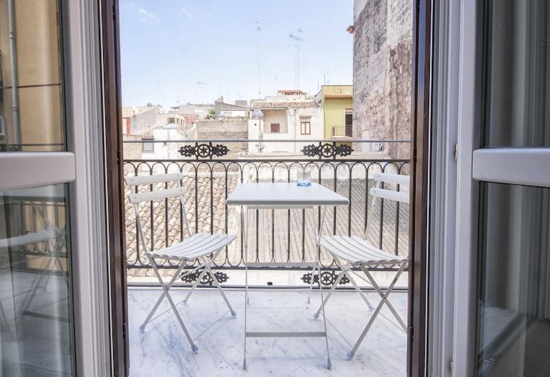Residenza Le Zagare, Castellammare del Golfo, Estudio superior, vista a la ciudad, Balcón