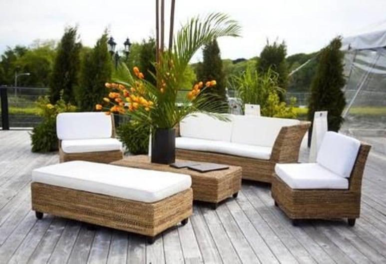 OceanCliff Hotel & Resort, Newport, Terraza o patio