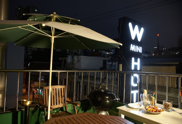W mini hotel - Hostel, Seoul, Premium Studio Suite, 2 Bedrooms, Non Smoking, City View, Terrace/Patio