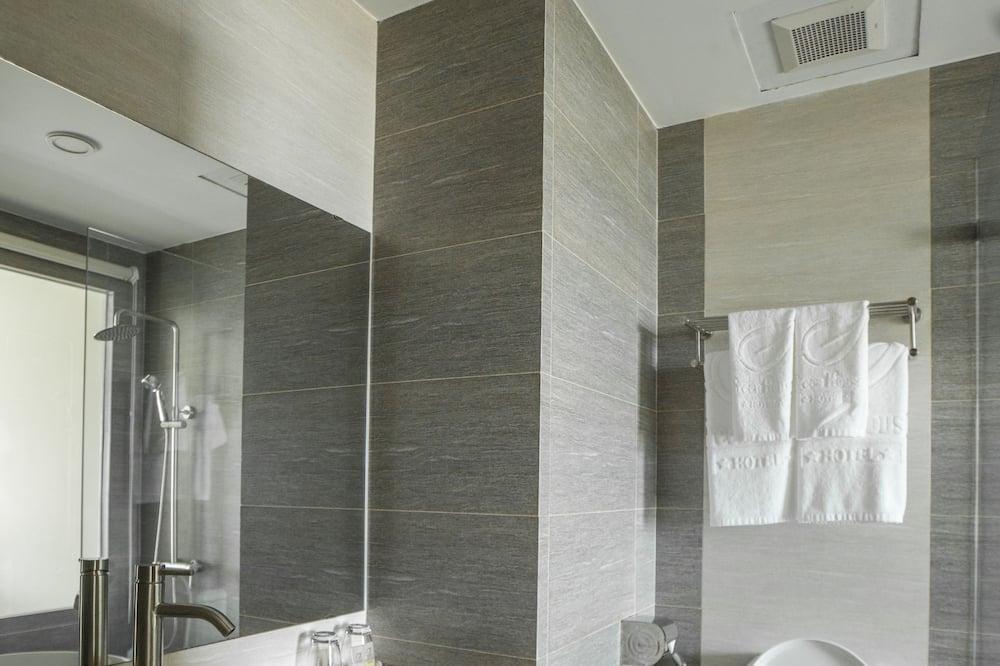 Deluxe-Zimmer, Nichtraucher, Stadtblick - Badezimmer