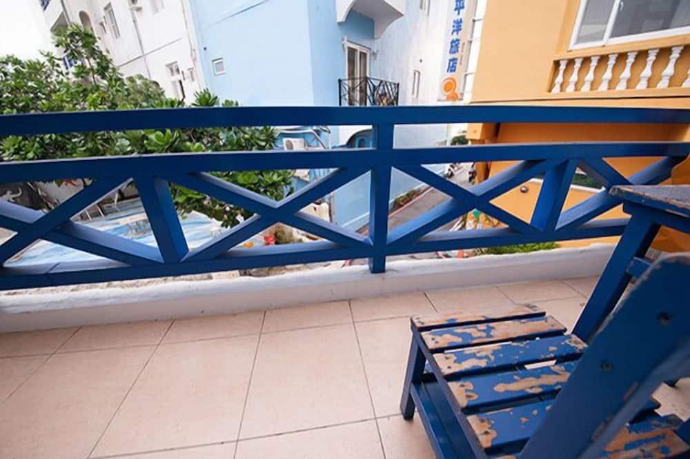 四人房, 陽台 - 陽台