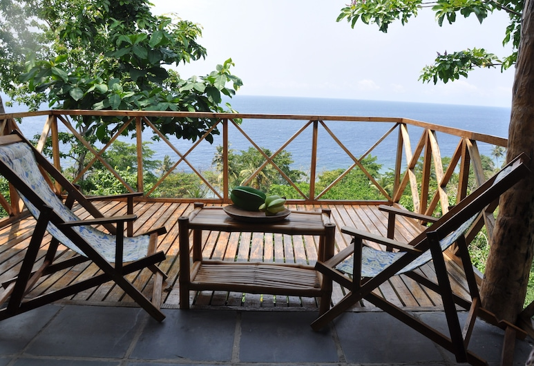 Mucumbli Hotel, เกาะเซาตูเม, ลานระเบียง/นอกชาน