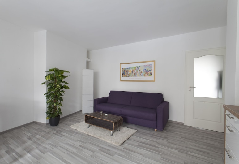 Apartment Hannover Top Citylage, Hannover, Apartment, Ground Floor, Living Room