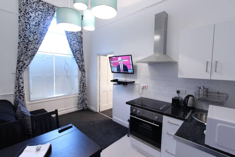 Standard-Apartment, 1 Schlafzimmer (York Street) - Wohnbereich