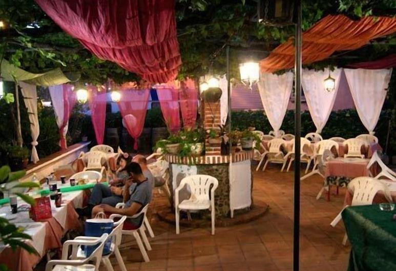 El Tío Mateo, Marbella, Restaurang utomhus