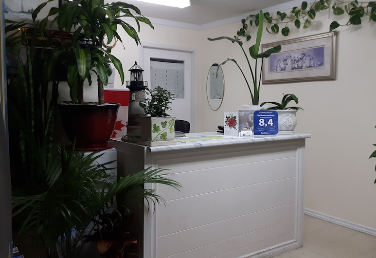 The Maplewood Motel, Saugeen Shores, Lobby