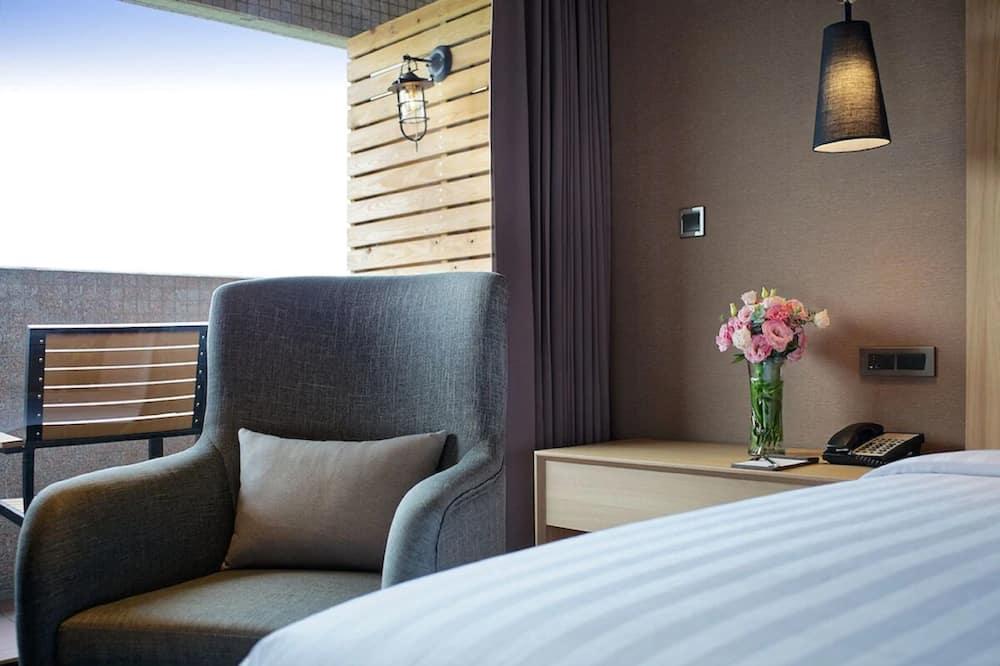 Tomannsrom – deluxe, utsikt mot fjell (High Floor) - Balkongutsikt