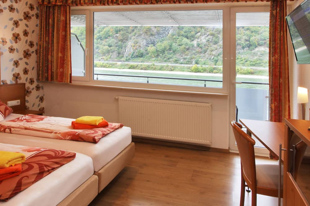 Deluxe Double or Twin Room, Balcony, River View - Balcony