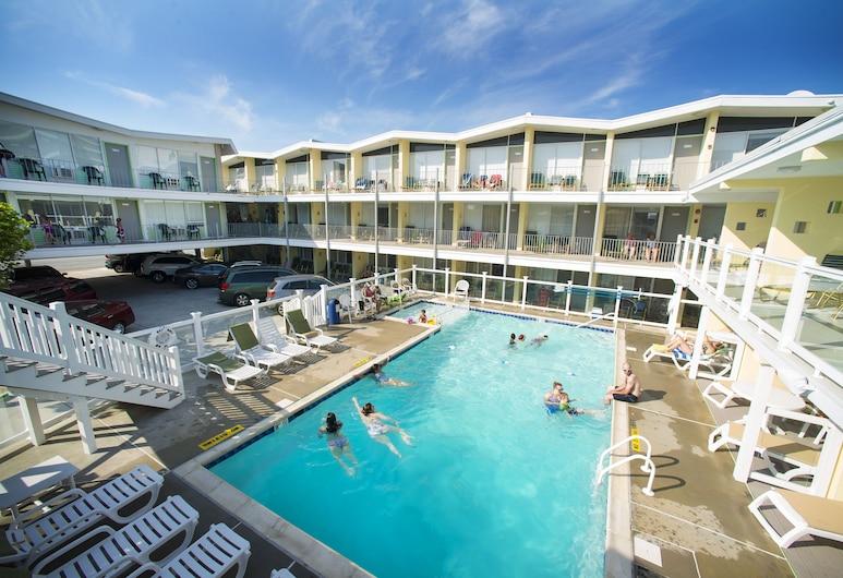 Sea Gull Motel, Wildwood, Hotelový areál