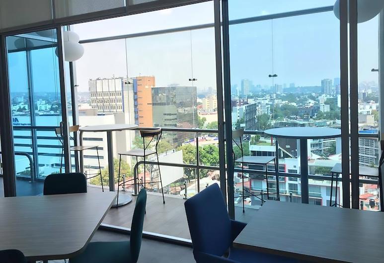 TRYP by Wyndham Mexico City World Trade Center Area Hotel, Meksikas, Terasa / vidinis kiemas
