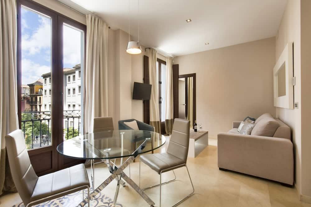 公寓, 1 間臥室, 城市景觀 - 客廳