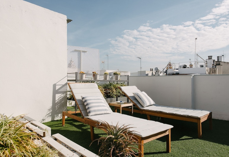 The Boutike Guesthouse, Seville, Terrace/Patio