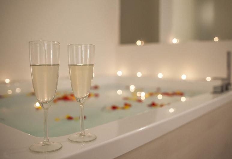 羅馬生態套房酒店, 羅馬, 奢華套房, 熱水浴缸, 浸泡式浴缸