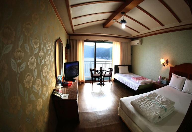 Jangsungpo Beach Hotel, Geoje, Standard İki Ayrı Yataklı Oda (Extra person fee during Check-In), Oda