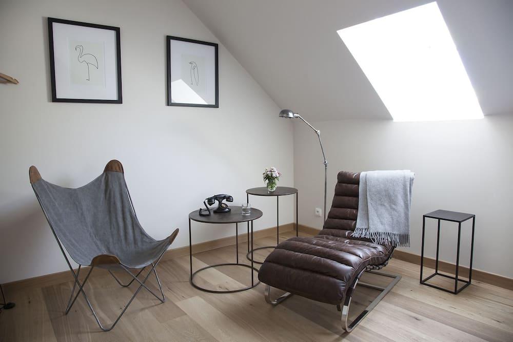 Dobbeltrom – classic, 1 kingsize-seng, privat bad - Oppholdsområde