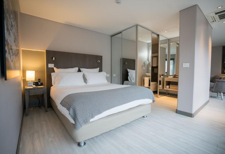 Hotel CityFlats, Bogotá, Suite ejecutiva, 1 cama Queen size, Habitación