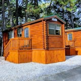 Log Cabin at Anvil Campground - Room