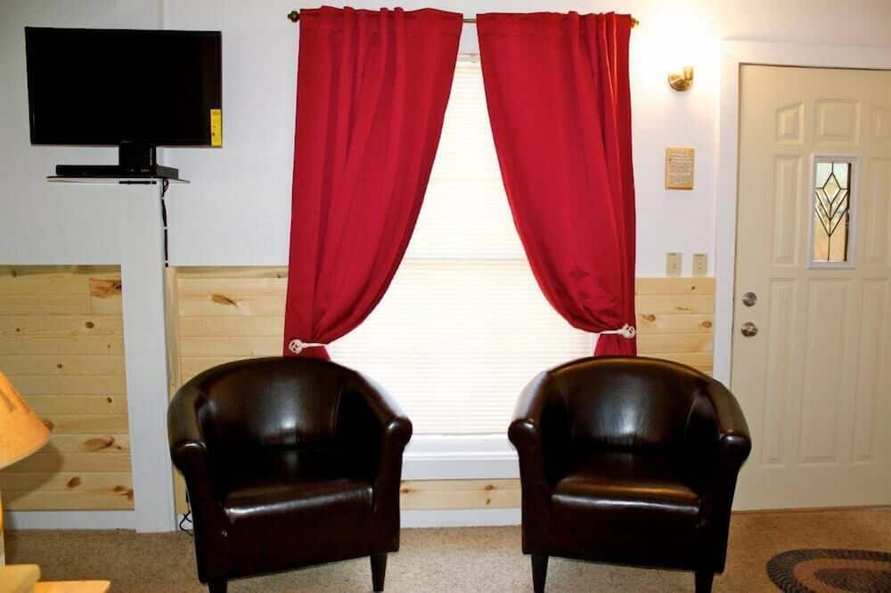Deluxe szoba, több ágy, privát fürdőszoba (1 Queen and 1 Full ) - Nappali rész