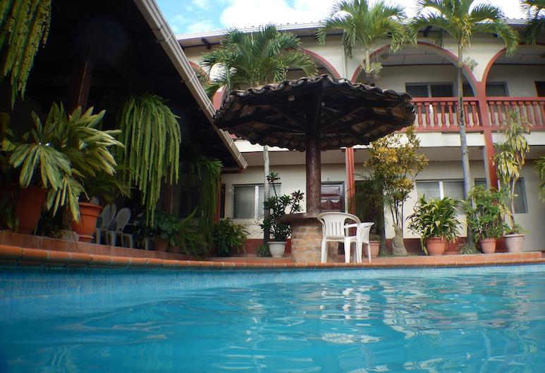 Hotel Buena Vista, Copan Ruinas, Innenpool