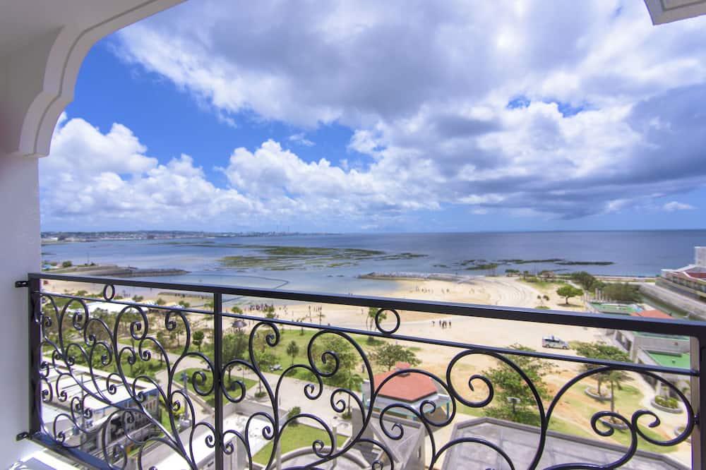 İki Ayrı Yataklı Oda, Sigara İçilmez, Okyanus Manzaralı (Special, 4F-9F) - Balkon Manzarası