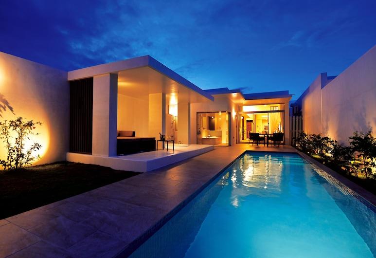 Feliz Villa Suite Miyakojima Ueno, Mijako-sziget, Villa, 1 hálószobával, privát medence, kilátással az óceánra, Terasz/udvar