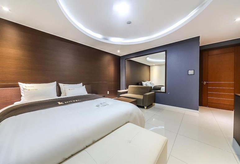 K Hotel, Daejeon, Kamar Triple Superior, 1 kamar tidur, non-smoking, Kamar Tamu