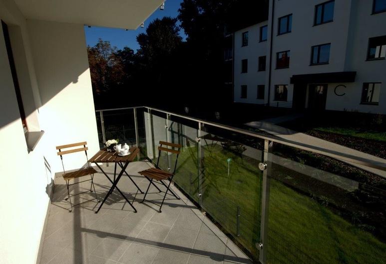 IRS ROYAL APARTMENTS - Apartamenty IRS Copernicus, Gdansk, Leilighet, tekjøkken (Architecton), Balkong