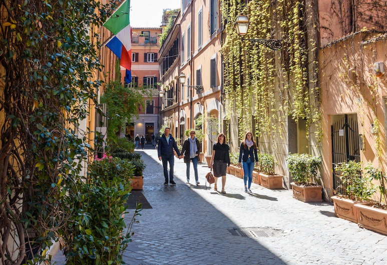 Suite in Rome Historic, Rooma, Vaade hoonest